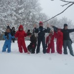 Incroyable chutes de neige
